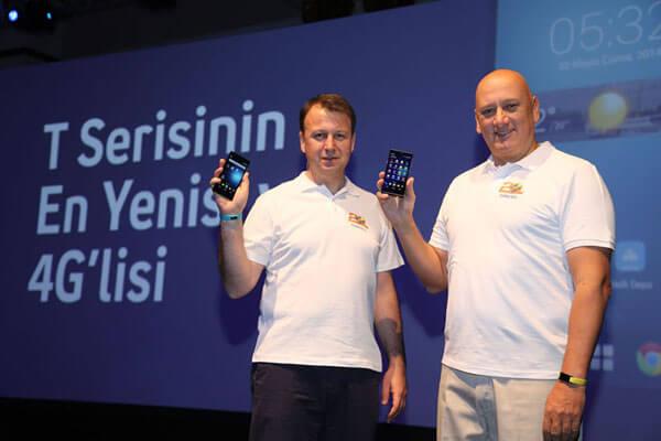 Turkcell'in Yeni 4G'li Akıllı Telefonu T50
