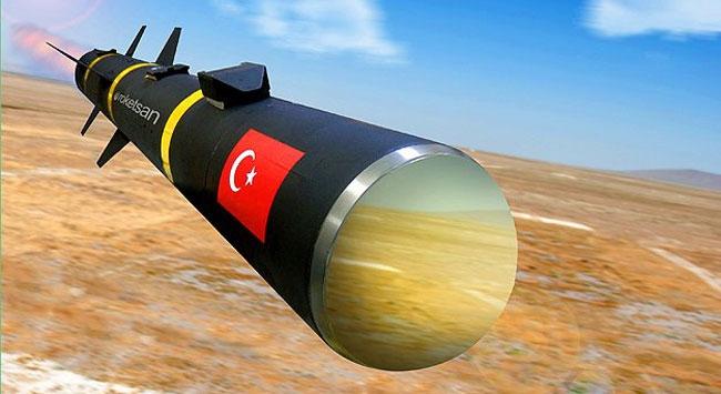 Türk füzesi tankların korkulu rüyası olacak