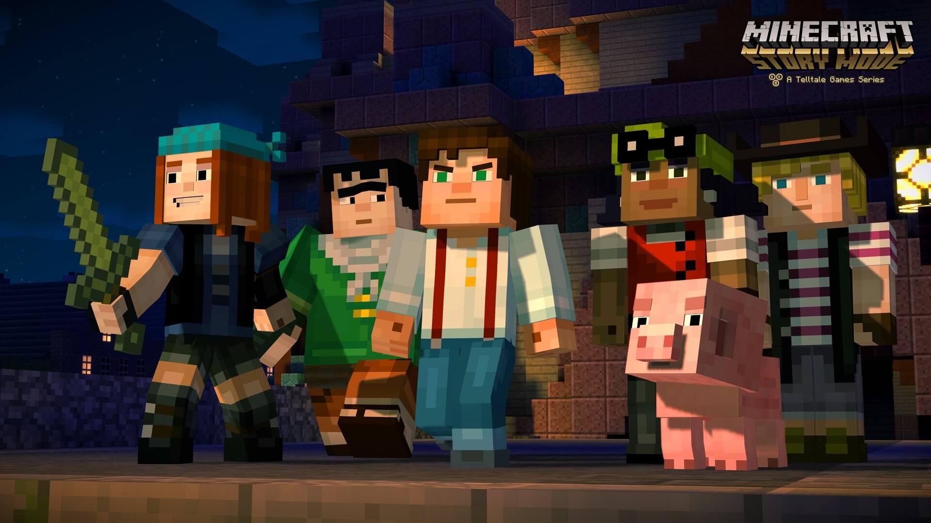 Minecraft Story Mode Episode 1 Full İndir (PC – Minecraft Hikaye Modu)