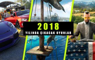 2018'de Çıkacak Oyunlar