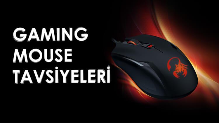 En İyi Oyuncu Mouse Seçimi