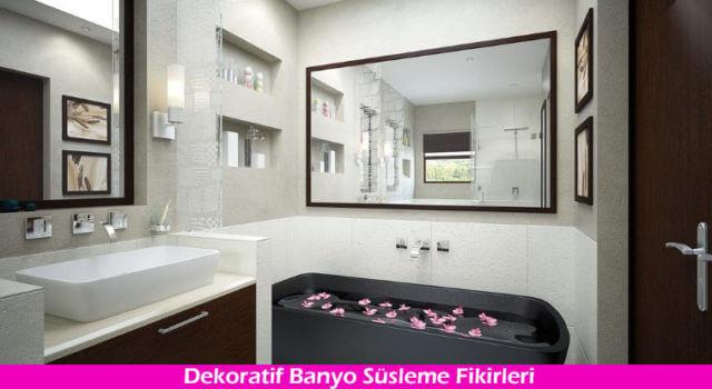 Banyo Süsleme Modası