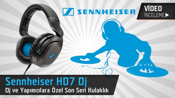 Sennheiser HD7 DJ Mercek Altında
