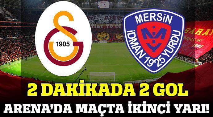 Galatasaray Mersin İdmanyurdu Maçı Özeti ve Golleri 1-1 ( GS – MERSİN MAÇI SKORU, GENİŞ ÖZETİ)