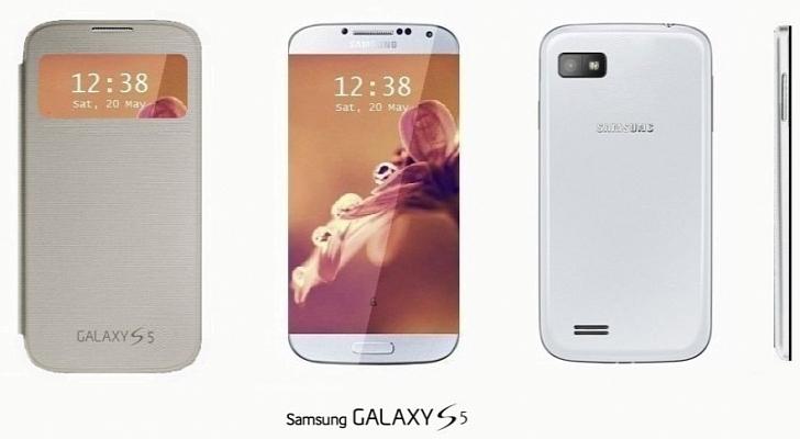 Samsung Yeni Telefonu S5 Göz Kırptı