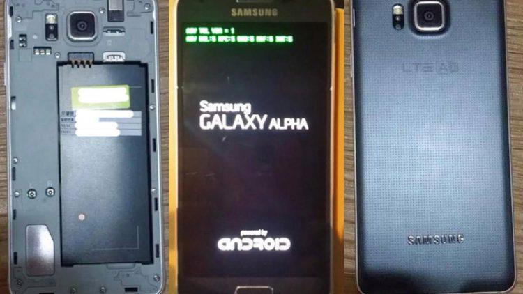 Samsung'tan İphone 6'ya Rakip ALPHA!