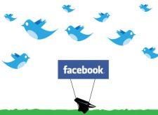 Facebook, Twitter ve Popülarite