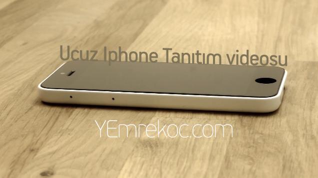 Ucuz iPhone modeline ait kullanıcı videosu ortaya çıktı